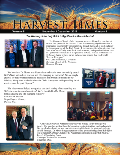 Norman Moore Ministries - Church of the Nazarene